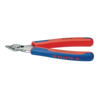 Knipex Elektronik-Seitenschneider Super Knips® brüniert mit Mehrkomponenten-Hüllen 125mm