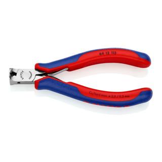 Knipex Elektronik-Vornschneider mit Mehrkomponenten-Hüllen 115mm mit kleiner Facette