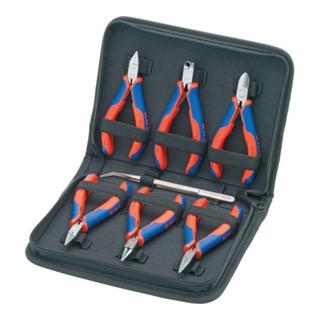 Elektronikzangen-Set 7-teilig mit Präzisions-Pinzette und Elektronikzangen