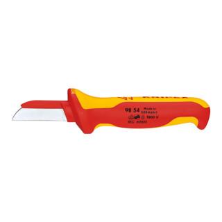 Knipex Kabelmesser 1000V-isoliert mit Mehrkomponenten-Griff L.180mm