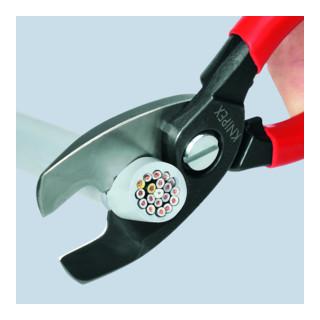 Knipex Kabelschere mit Doppelschneide