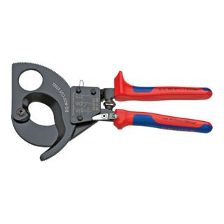 Knipex Kabelschneider (Ratschenprinzip) mit Mehrkomponenten-Hüllen