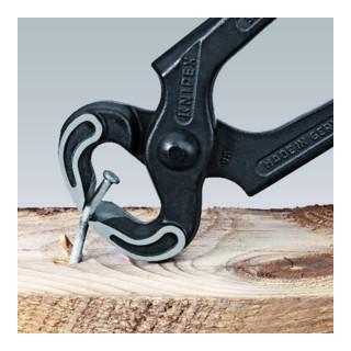 Knipex Kneifzange schwarz atramentiert poliert mit Kunststoff überzogen