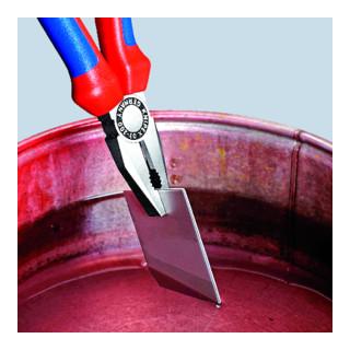 Knipex Kombizange verchromt mit Mehrkomponenten-Hüllen