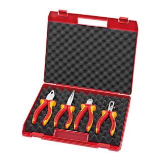 Knipex Kompakt-Box Isoliertes Werkzeug 4-teilig
