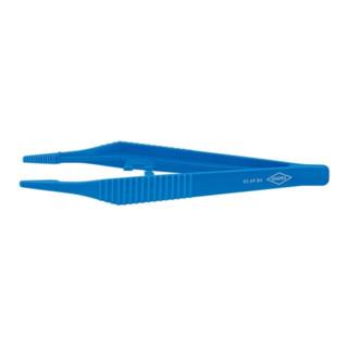 Knipex Kunststoff-Pinzette 130mm trapezförmige Spitze 3,5 mm breit