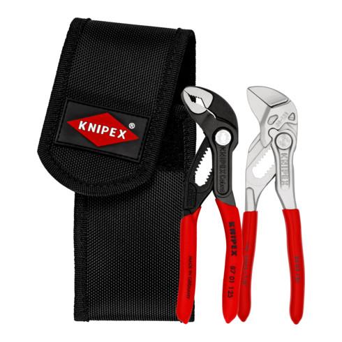 KNIPEX Mini-Zangenset in Werkzeuggürteltasche 00 20 72 V04