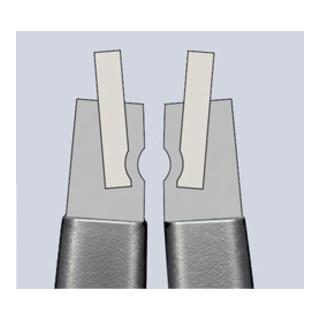 Knipex Präzisions-Sicherungsringzange grau atramentiert