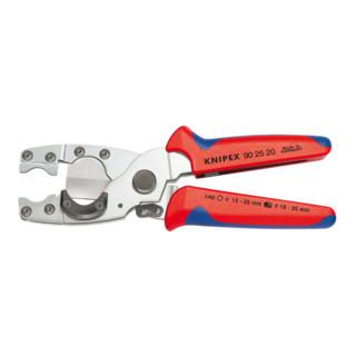 Knipex Rohrschneider für Verbund- und Schutzrohre verzinkt mit Mehrkomponenten-Hüllen 210mm