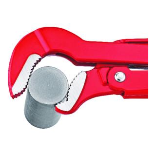 Knipex Rohrzange S-Maul rot pulverbeschichtet