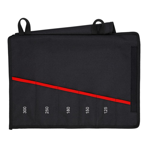 KNIPEX Rolltasche für Zangenschlüssel leer 5 Fächer