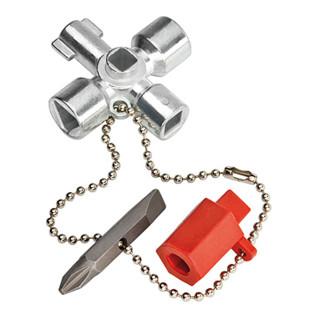 Knipex Schaltschrankschlüssel, kurze Ausführung in 44 mm Länge