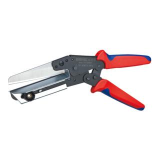 Knipex Schere für Kunststoffe brüniert mit Mehrkomponenten-Hüllen 275mm