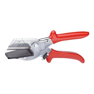 Knipex Schneider für Flachbandkabel verchromt mit Kunststoff-Hüllen 215mm
