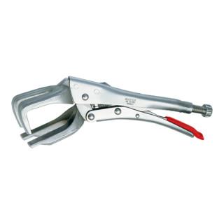 Knipex Schweiß-Gripzange vernickelt 280mm Rohrdurchmesser 30-65mm