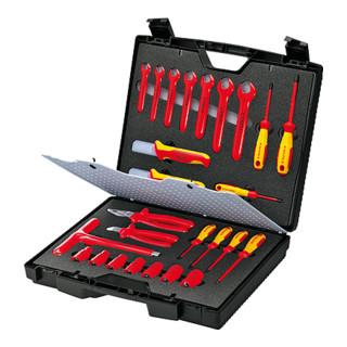 Knipex Standardkoffer mit isolierten Werkzeugen 26-teilig