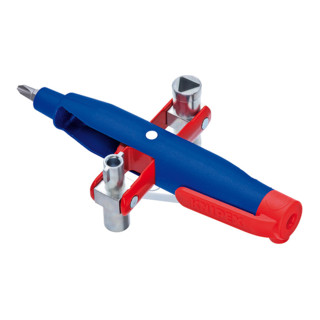 Knipex Stift-Schaltschrank-Schlüssel für gängige Schränke und Absperrsysteme 145mm