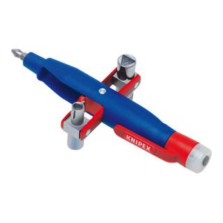 Knipex Stift-Schaltschrank-Schlüssel mit Spannungsfinder 155mm