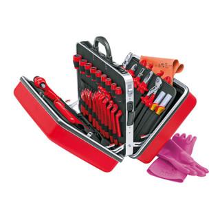 Knipex Universalkoffer mit isolierten Werkzeugen 48-teilig