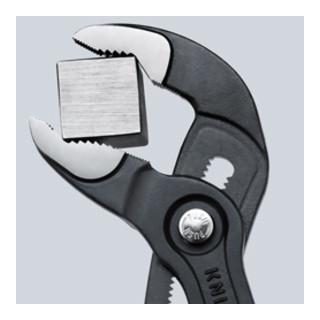 Knipex Wasserpumpenzange Cobra® verchromt mit Mehrkomponenten-Hüllen verchromt 300mm
