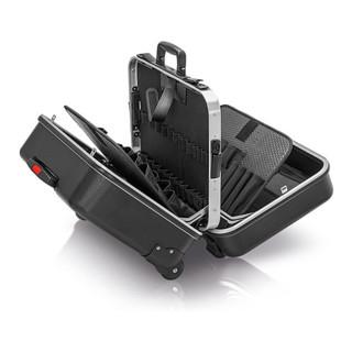 Knipex Werkzeugkoffer BIG Twin-Move mit integrierten Rollen