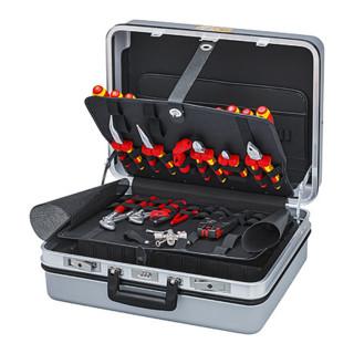 Knipex Werkzeugkoffer für den E-CHECK 23-teilig
