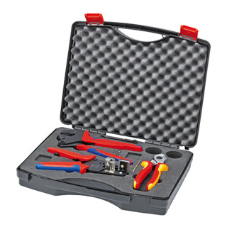 Knipex Werkzeugkoffer für Photovoltaik