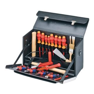 Knipex Werkzeugtasche für Elektroinstallation Ausführung Lehrling 24-teilig