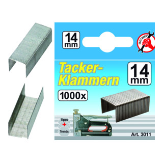 Kraftmann Klammern Typ 53 1000 Stück