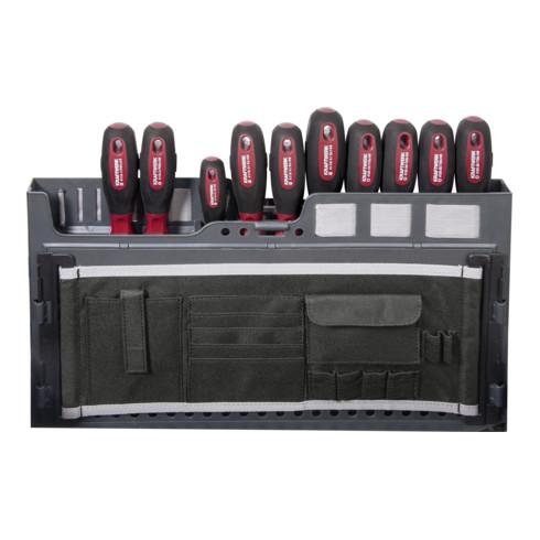 Kraftwerk Service-Werkzeugkoffer,ERGO+HIGHTECH,154-tlg