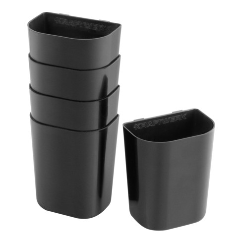 Kraftwerk Universalbehälter für Lochwand, 90x75x50 mm