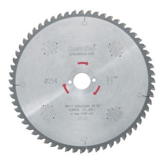 Metabo Kreissägeblatt Precision Cut HW/CT Wechselzahn