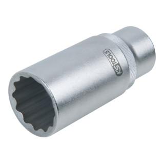 KS Tools 1/2'' Einspritzdüsen-Stecknuss, SW27 mm