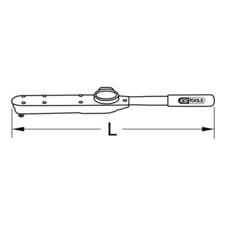 KS Tools 1/2'' Prüf-Drehmomentschlüssel