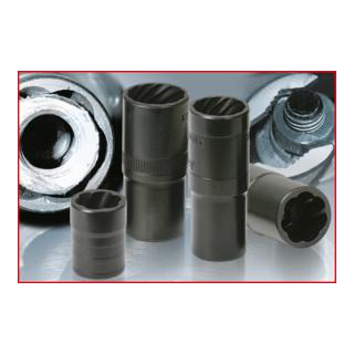 KS Tools 1/2'' Spiral-Profil-Kraft-Stecknuss