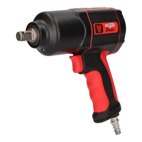 KS Tools 1/2 Zoll THE DEVIL Hochleistungs-Druckluft-Schlagschrauber, 1600Nm