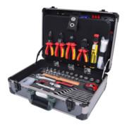 """128-tlg. KS Tools 1//4/"""" 1//2"""" Elektriker-Werkzeugkoffer"""