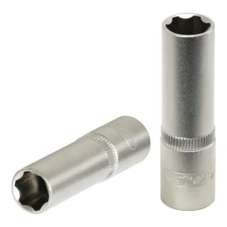 KS Tools 1/4'' Stecknuss, 50mm lang