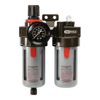 KS Tools 1/4´´ Druckluft-Wartungseinheit 0,5-12bar