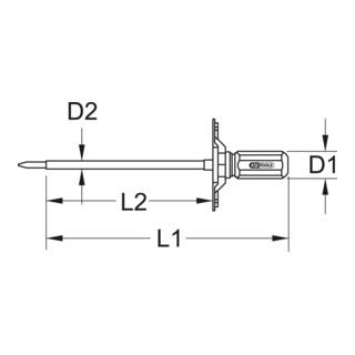 KS Tools 1/4'' ESD Prüf-Drehmomentschraubendreher