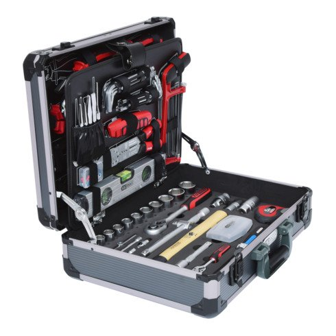 KS Tools 1/4 Zoll+1/2 Zoll Werkzeug-Satz, 127-tlg.