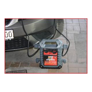 KS Tools 12 V + 24 V Batterie-Booster, mobiles Starthilfegerät 1400 A