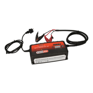 KS Tools 12V + 24V SMARTcharger Hochfrequenz-Batterieladegerät 25A/12,5A