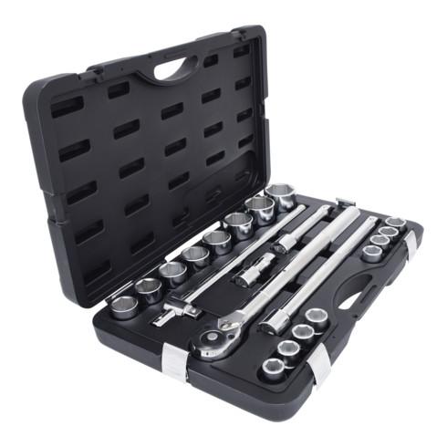 KS Tools 3/4 Zoll Steckschlüssel-Satz, 21-tlg. 6-kant