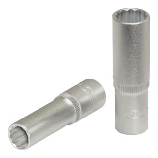 KS Tools 3/8'' 12-kant-Stecknuss, lang