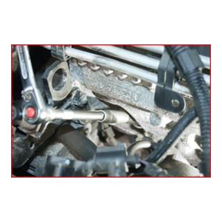 KS Tools 3/8'' CLASSIC Sechskant-Stecknuss, lang