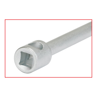 KS Tools 3/8'' Zündkerzen-Stecknuss mit Gelenk, lang