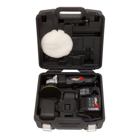 KS Tools Akku-Poliermaschine, 2.300 U/min 18V, mit 1 Akku und 1 Ladegerät