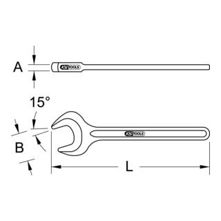 KS Tools BRONZEplus Einmaulschlüssel