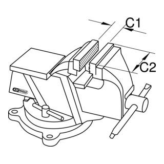 KS Tools BRONZEplus Parallel-Schraubstock